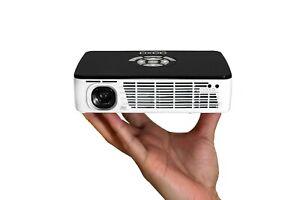 AAXA P300 PICO PROJECTOR, 500 Lumens, HDMI, USB, 60+ Minutes Battery (REFURB)