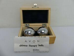 (ref288CK) Avon Chinese Baoding Therapy Balls