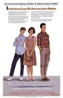 Sixteen Candles Movie POSTER 11 x 17  Molly Ringwald, Anthony Michael Hall, A
