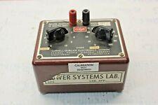 Cornell-Dubilier Electronics Division Cde Decade Resistor Model Rda