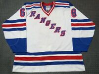 Jaromir Jagr New York Rangers Authentic Signed NHL Starter Hockey Jersey Size 60