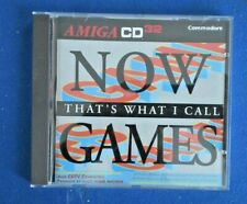 Amiga Cd32 Commodore  Cdtv compatible (Now thats what i call games)