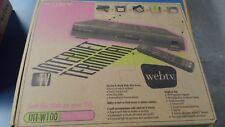 Sony WebTV INT-W100 Internet Terminal new in original packaging never used