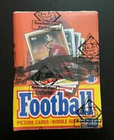 1988 Topps Football NFL, BBCE authenticated unopened wax box! Bo Jackson RC 💥