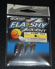 Owner Flashy Accents - Flashy Willowleaf Blade Large #2 Pack of 4 5188-107