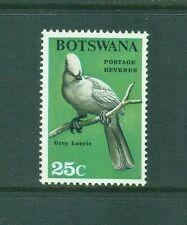 Botswana 1967 25c  Grey Loerie ( Go away Bird ) Bird MNH SG229