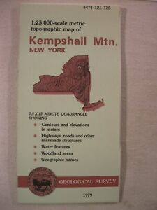 1979 USGS kempshall mtn. topographic map
