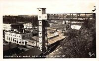 Real Photo Postcard Oregon City Elevator as Seen from the Bluff, Oregon~110850
