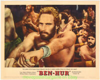 BEN-HUR LOBBY CARD size MOVIE POSTER #7  NEAR MINT CHARLTON HESTON 1959