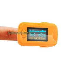 Fingert Pulse Oximeter Spo2 PR Tester Blood Oxygen Monitor Oxymeter lanyard BID