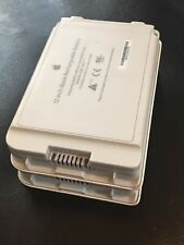 """2x OEM Genuine Apple Rechargeable Battery for 12"""" iBook Mac M9337G/A A1061 Lot 2"""