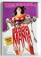 Blood Mania FRIDGE MAGNET (2 x 3 inches) movie poster horror