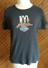 Harley Davidson New Berlin WI Women's Size 2X Knit Top 10 Year Anniversary Tee