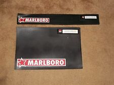 Marlboro Cigarette Two Piece Bar Mat Drip Mats Set Cocktail Rubber Spill Trays