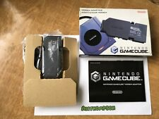 Nintendo GameCube Modem Adapter Boxed Complete