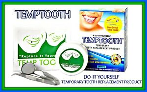 Temptooth Kit Original Temp tooth Missing Tooth Replacement Tooth Loss 250,000