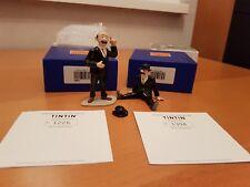 TINTIN Tim und Struppi PIXI Ref. 46923+46931 Dupond debout et Dupont assis