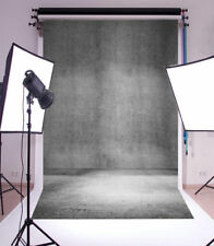 Background For Photography Vinyl 5x7ft Gray Walls Photo Backdrops Studio Props