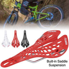 Bicycle Saddle Road MTB Mountain Bike Spring Seat Plastic Padded Cushion Cover