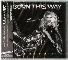 LADY GAGA-BORN THIS WAY-JAPAN CD BONUS TRACK F25