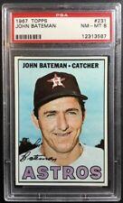 1967 Topps John Bateman #231 PSA 8