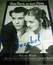 JEZEBEL (L'INSOUMISE) - Davis,Fonda,Wyler AFFICHE 120x160/47x63 FRENCH POSTER RR