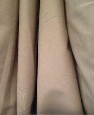 """6 metres 60"""" Wide  Laura Ashley Truffle  Curtain Fabric  Med Weight Cotton"""