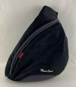 Canon Power Shot Sling Camera Bag Shoulder Travel Back Pack