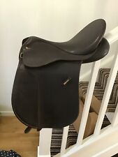 Brown 16.5 Inch Wintec VSD Cair Saddle Changeable Gullet