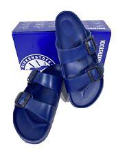Birkenstock Arizona Eva Unisex W10/M8 (EU41)Reg Fit Navy Slide Sandals KB-2177