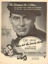1944 WW2 era movie AD CARY GRANT in None but the Lonely Heart   092416