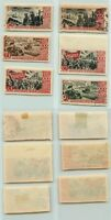 Russia USSR 1947 SC 1183-1188 used or mint imperf . rta3982