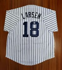 Don Larsen Autographed Signed Jersey New York Yankees JSA
