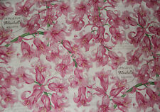 Beautiful Pink Bluebells Floral ~Fq ~Super Color! 18 X 22
