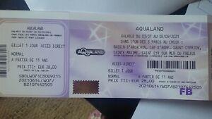 3 billets aqualand 6 parcs