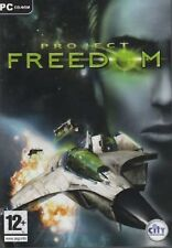 Project Freedom -City Interactive PC CD Game- Brand New & Sealed Fast Ship DB60