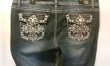 EARL JEANS EMBROIDERY BLING JR SIZE 15