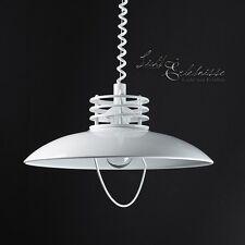 blancas Lámpara de Cocina colgante E27 altura regulable