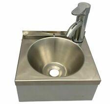 More details for s10g lever mixer sink mini hand wash basin compact sink waste plug trap
