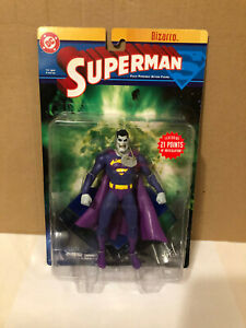 DC Diirect Bizarro Superman Fully Poseable Action Figure Factory sealed