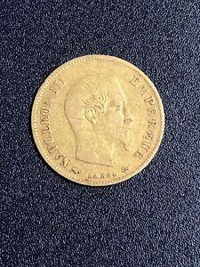 Piece 10 Francs Or Napoleon 1860
