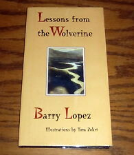 SIGNED by BARRY LOPEZ LESSONS FROM THE WOLVERINE ARCTIC Alaska DREAM POWER MAGIC