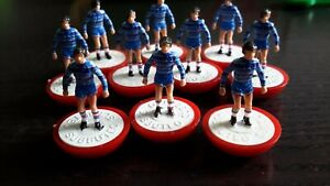 Subbuteo LW Team Chelsea - REF 513 - Referenced & Named Box ExCon - Type 63000