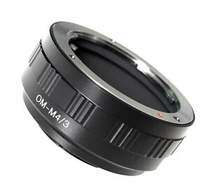 Quality Olympus OM Lens to Micro Four Thirds Mount Adapter (for M4/3 cameras)