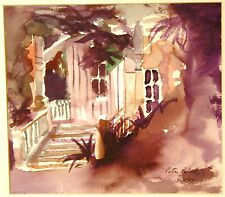 "Original Painting - ""Dreamy Porch"" by Peter Roberts"