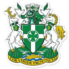"""Chilliwack CANADA Coat of Arms bumper sticker 5"""" x 5"""""""