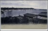 Kiel Schleswig-Holstein AK 1906 gelaufen Partie am Kriegshafen Hafen Schiffe