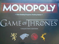 GAME OF THRONES COLLECTORS EDITION MONOPOLY BOARD GAME *BRAND NEW*