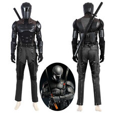 G.I. Joe Snake Eyes Costume Cosplay Black Suit for Adult Outfit