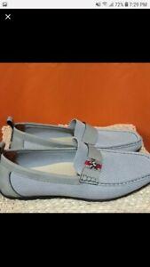 Gray Men's Slip On Mesh Shoe